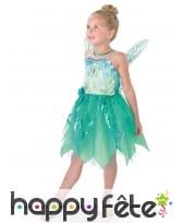 Robe Fée Clochette luxe pour enfant