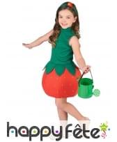 Robe fraise pour enfant, image 1