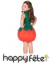 Robe fraise pour enfant, image 2
