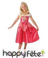 Robe princesse Aurore pour fillette