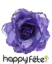 Rose pour cheveux de 10cm, image 3