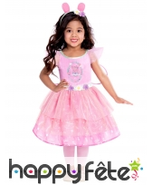 Robe princesse Peppa Pig pour enfant