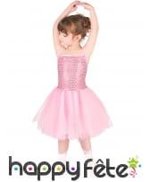Robe rose de danseuse avec chaussons pour enfant, image 1