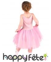 Robe rose de danseuse avec chaussons pour enfant, image 2