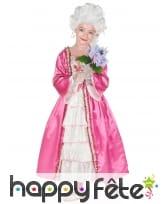 Robe rose de duchesse pour enfant, image 1