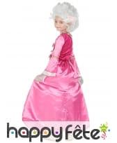 Robe rose de duchesse pour enfant, image 2