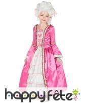 Robe rose de duchesse pour enfant