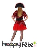 Robe rouge de pirate pour ado, image 2