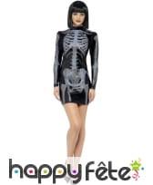 Robe squelette 3d sexy