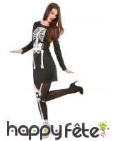Robe squelette avec manches longues, image 1