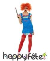 Robe salopette de Chucky