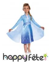 Robe satinée de Elsa pour fillette