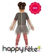 Robe tutu de clown pour halloween, enfant, image 1