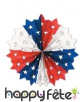 Rosace USA avec étoiles