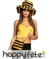 Sac abeille avec zip pour adulte, image 1