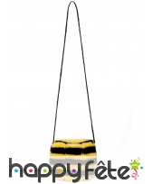 Sac abeille avec zip pour adulte
