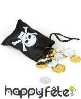 Sac argent pirate, image 1