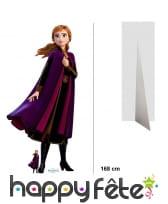 Silhouette Anna taille réelle, Reine des neiges