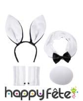 Set bunny, lapin noir et blanc, image 2