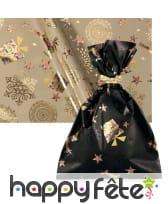 Sachet cadeau avec motifs festifs de Noël, image 2