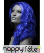 Spray cheveux bleu