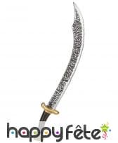 Sabre courbé de prince arabe, 70cm