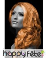 Spray cheveux orange