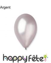Sachet de 10 ballons nacrés de 30cm, image 2