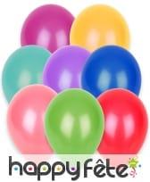 Sachet de 100 ballons en caoutchouc de 27cm, image 1