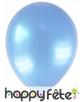 Sachet de 12 ballons métallisés de 28 cm, image 4