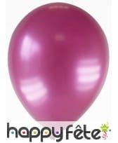 Sachet de 12 ballons métallisés de 28 cm, image 6
