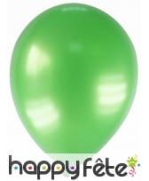 Sachet de 12 ballons métallisés de 28 cm, image 9