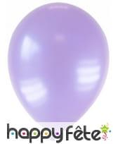 Sachet de 12 ballons métallisés de 28 cm, image 10