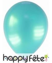 Sachet de 12 ballons métallisés de 28 cm, image 14