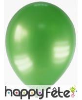 Sachet de 12 ballons métallisés de 28 cm, image 15