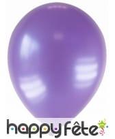 Sachet de 12 ballons métallisés de 28 cm, image 16