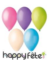 Sachet de 12 ballons pastels de 30cm, image 10