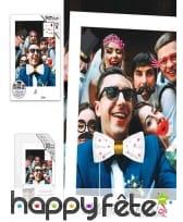 Set de 12 Photobooth thème mariage avec cadre, image 2