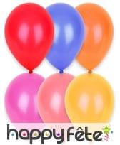 Sachet de 24 ballons de 25cm, image 1