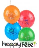 Sachet de 4 Ballons punch ball de 52 cm