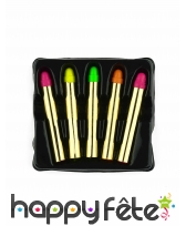 Set de 5 Crayons de maquillage UV
