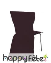 Sachet de 6 housses de chaise intissée, image 12