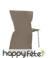Sachet de 6 housses de chaise intissée, image 15