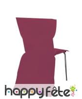 Sachet de 6 housses de chaise intissée, image 6