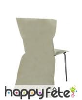 Sachet de 6 housses de chaise intissée, image 8
