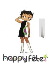 Silhouette de Betty Boop en carton plat