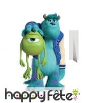 Silhouette de Bob et Sully en carton