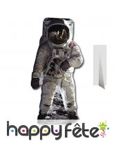 Silhouette de Buzz Aldrin Astronaute