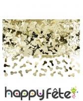 Sachet de confettis zizi dorés, 30 gr