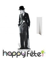 Silhouette de Charlie Chaplin en carton
